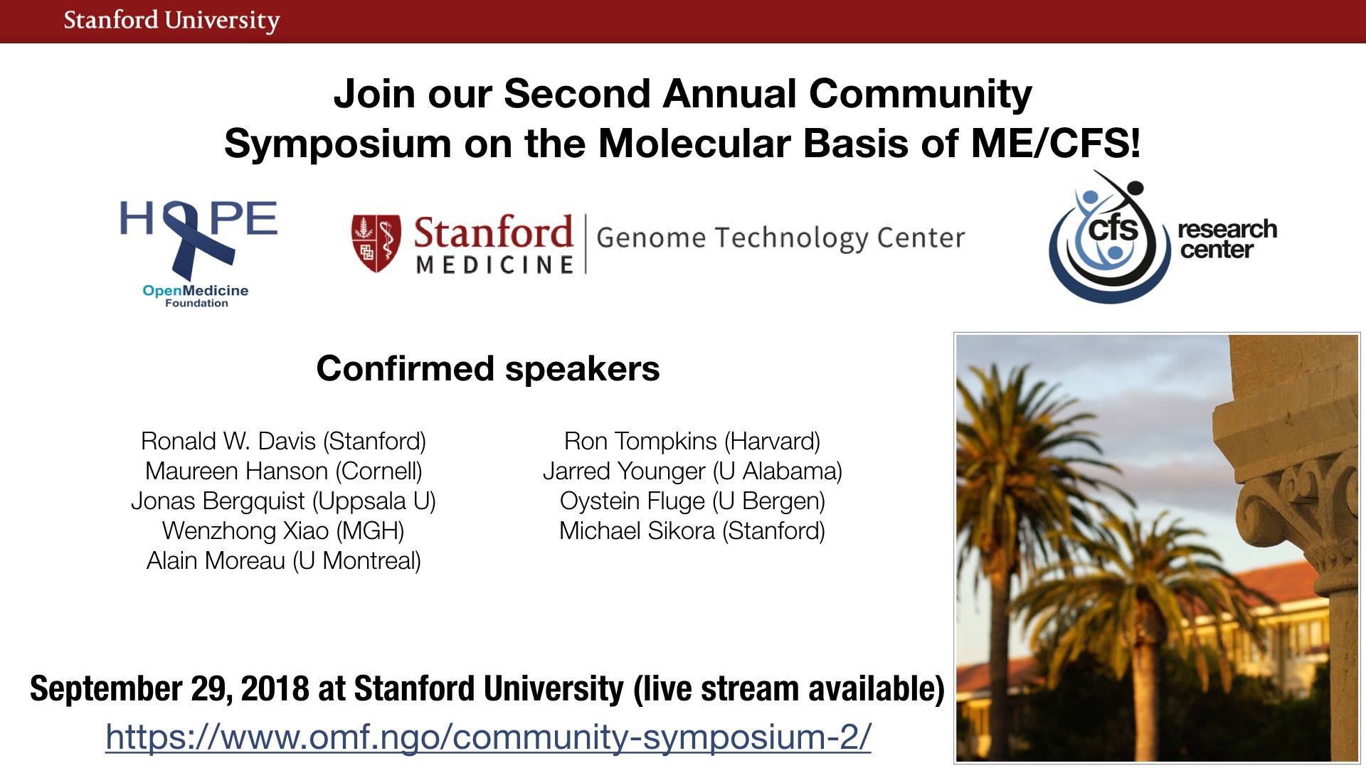 Open Medicine Foundation Symposium