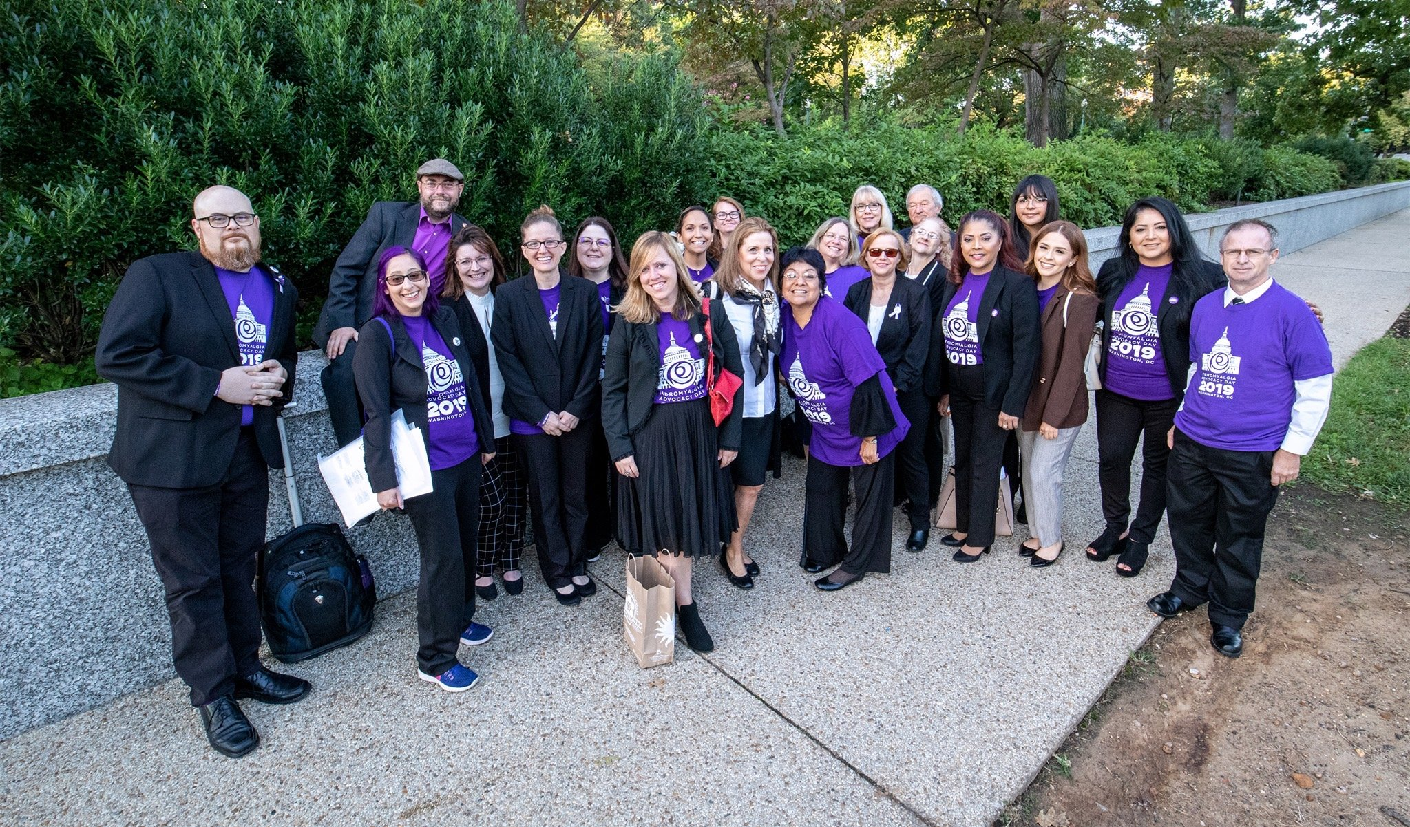 Fibromyalgia Advocacy At Capitol Hill!