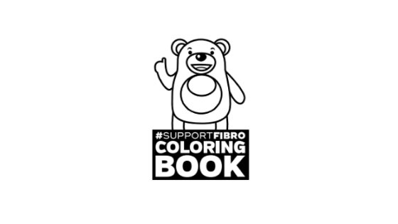Support Fibromyalgia Coloring Book